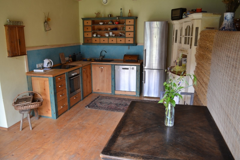 Apartmán ve dvoře kuchyň