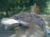Dolní rybník - koutek na uzení