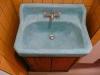 Velký apartmán-oranžový pokoj-koupelna(umyvadlo Marocký štuk)