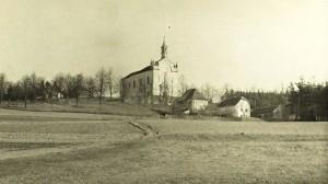 Poutní kostel Montserrat u Cizkrajova