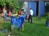 Batikování a malba na textil.