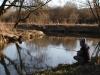 Rybaření na řece
